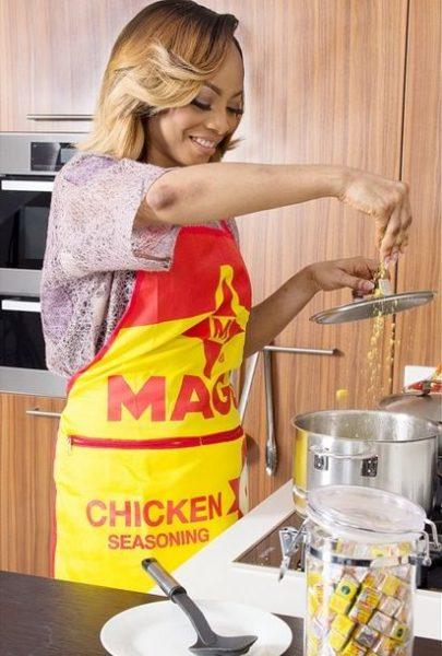 Toke Makinwa for Maggi - June 2014 - BellaNaija.com