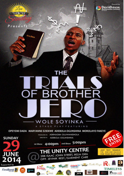 Trials of Bro Jero - BellaNaija - June - 2014
