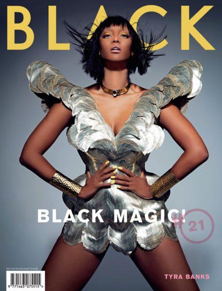 Tyra Banks for Black Magazine - Bellanaija - June 2014002