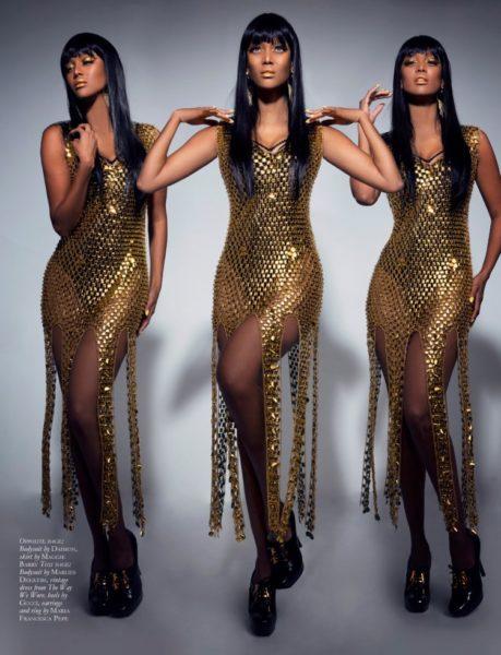 Tyra Banks for Black Magazine - Bellanaija - June 2014003