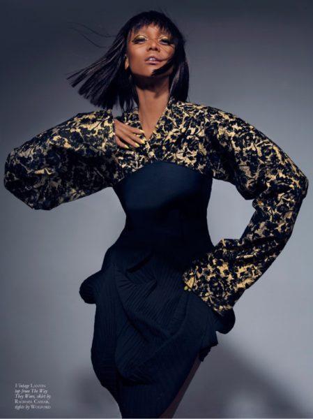 Tyra Banks for Black Magazine - Bellanaija - June 2014004