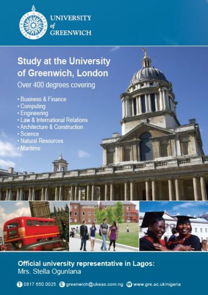 University of Greenwich - BellaNaija - June - 2014