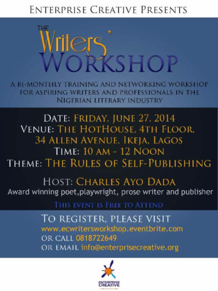 Writer's Workshop - BellaNaija - June - 2014