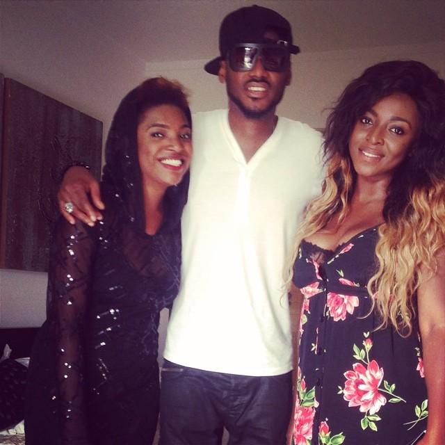 2Face & Annie Idibia in Ghana - July 2014  - BellaNaija.com 01 (2)