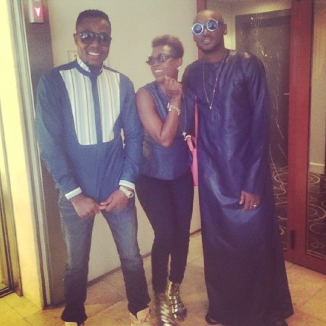 2Face & Annie Idibia in Ghana - July 2014  - BellaNaija.com 01 (3)