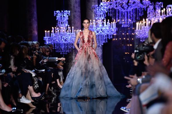 Elie Saab : Runway - Paris Fashion Week : Haute Couture Fall/Winter 2014-2015