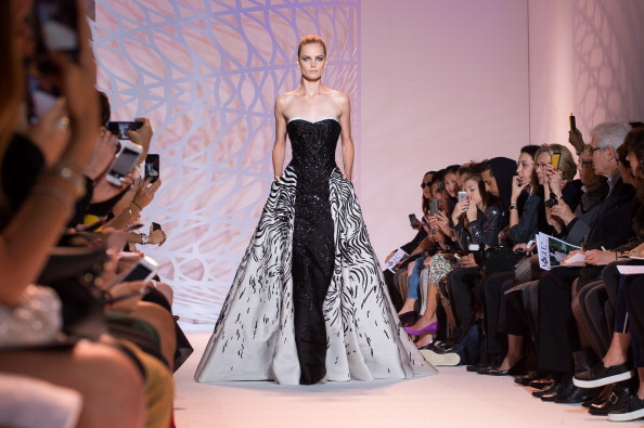 Zuhair Murad : Runway - Paris Fashion Week : Haute-Couture Fall/Winter 2014-2015