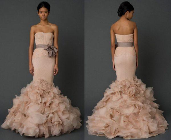 "Dr Amira Baker's Vera Wang ""Holly"" Dress from Spring 2012"