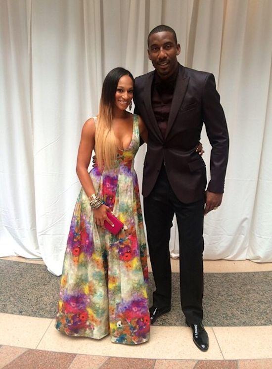 Former Nigerian American NFL Player Adewale Ogunleye Marries Dr Amira Baker