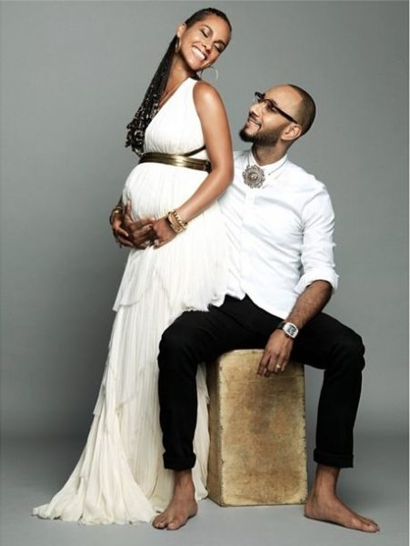 Alicia Keys & Swizz Beatz - July 2014 - BN Music - BellaNaija.com 01
