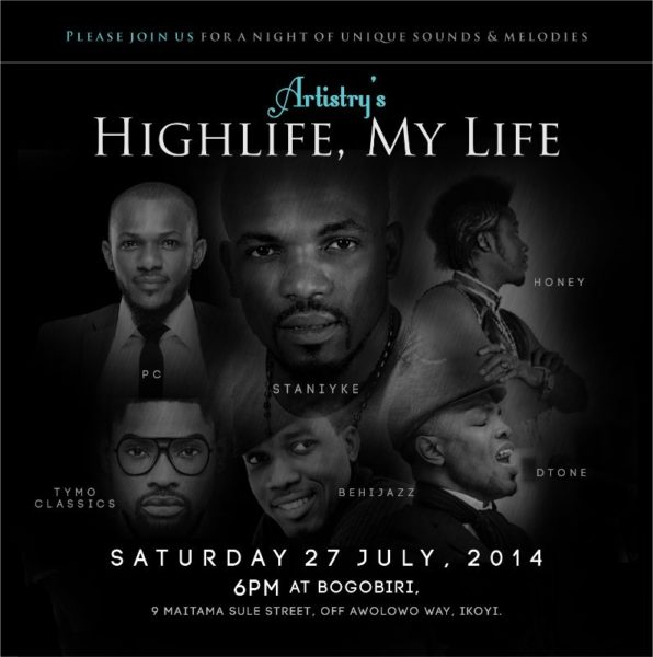 Artistry's Highlife - Events This Weekend - July 2014 - BN Events - BellaNaija,cm