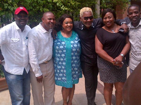 Foluke Daramola, Saheed Balogun, Others Meet With Awilo At The Nig. Entertainment Industry Lecture Series – Photo