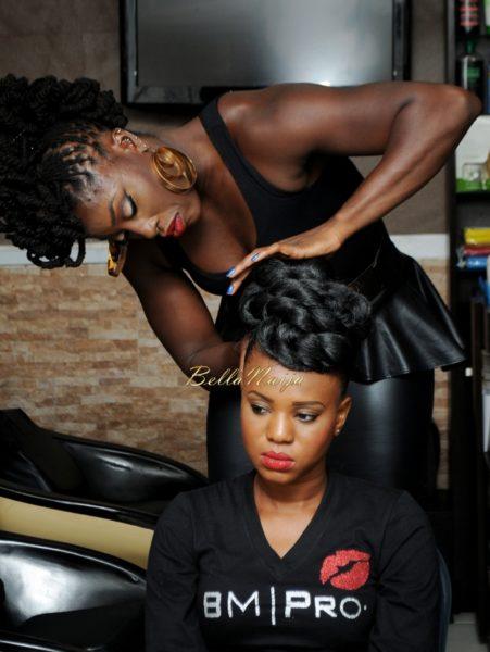 BM Pro - Banke Meshida Lawal, Segun Gele, Lyzadora Makeup Master Class | BellaNaija Beauty 023