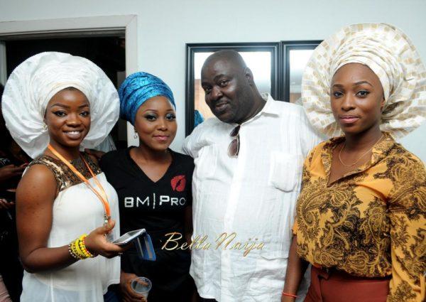 BM Pro - Banke Meshida Lawal, Segun Gele, Lyzadora Makeup Master Class | BellaNaija Beauty 042