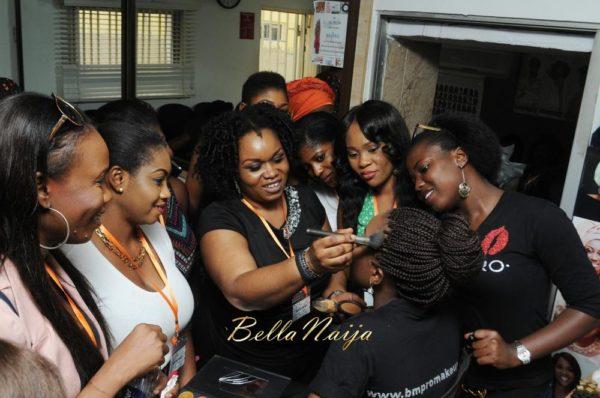 BM Pro - Banke Meshida Lawal, Segun Gele, Lyzadora Makeup Master Class | BellaNaija Beauty 059
