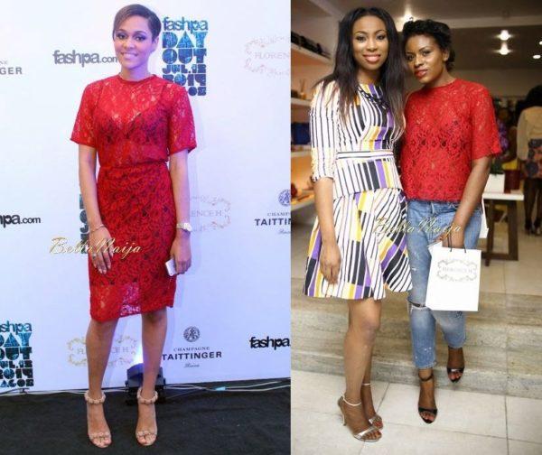 BN Pick Your Fave - Tania Omotayo & Liz Yemoja - Fashpa Day Out - BellaNaija.com 01