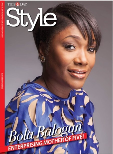 Bola Balogun - ThisDay Style Cover June 2014 - BellaNaija