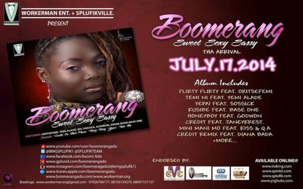 Boomerang Album Launch - BellaNaija - July - 2014