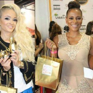 Charli Baltimore & Sundy Carter - July 2014 - BN Beauty - BellaNaija.com 01