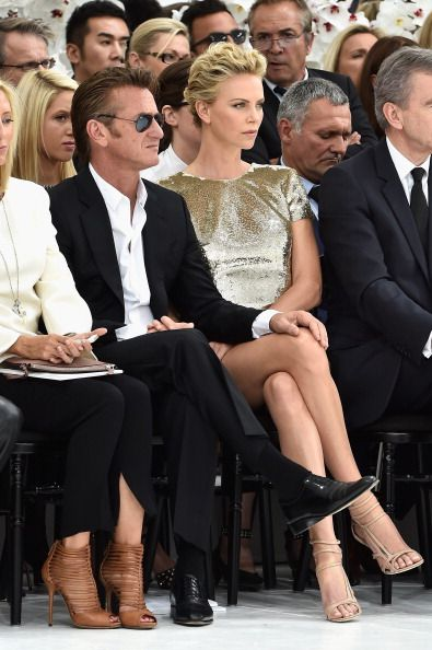 Christian Dior: Front Row - Paris Fashion Week : Haute-Couture Fall/Winter 2014-2015