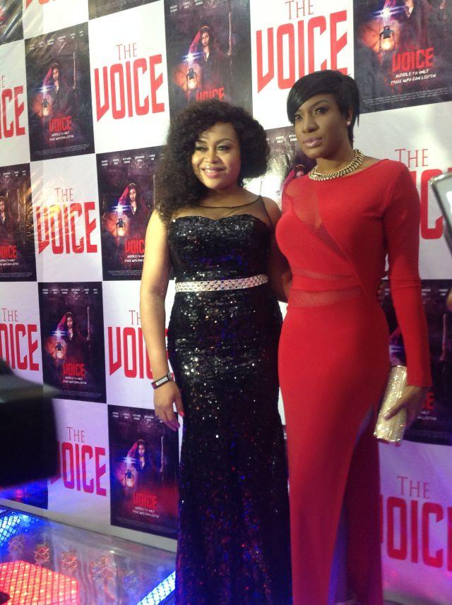 Red Hot? See Chika Ike's Look to Nkiru Sylvanus'
