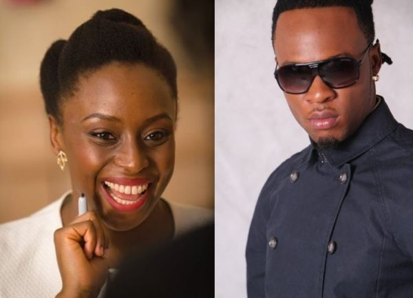 Chimamanda Ngozi Adichie & Flavour - BN Music - July 2014 - Bellanaija,com 01