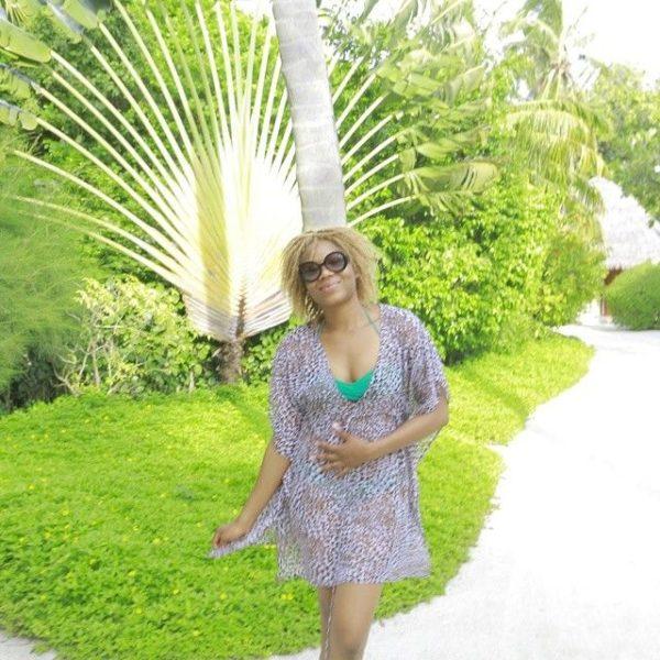 Chineze Anyaene in the Maldives - July - 2014 - BellaNaija001