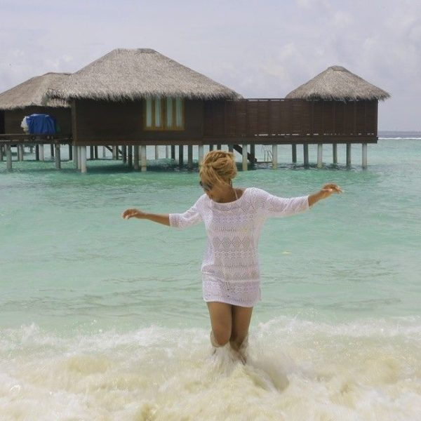 Chineze Anyaene in the Maldives - July - 2014 - BellaNaija003