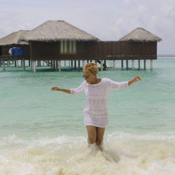 Chineze Anyaene in the Maldives - July - 2014 - BellaNaija003