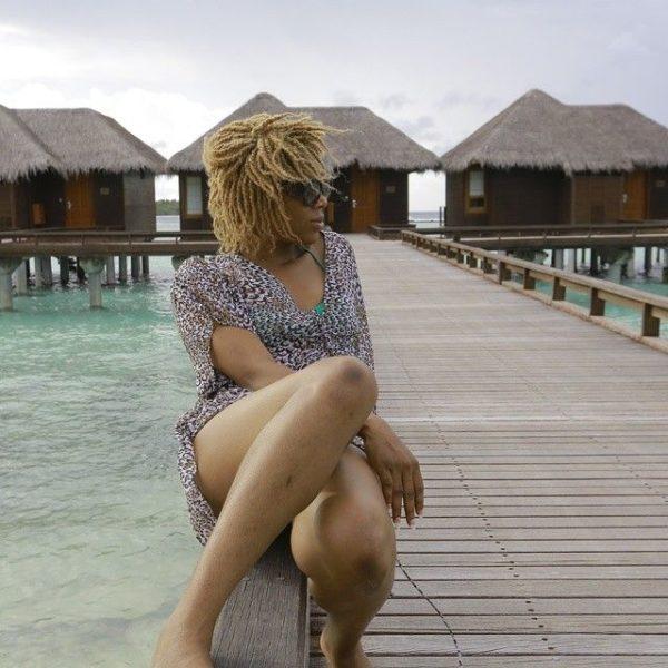 Chineze Anyaene in the Maldives - July - 2014 - BellaNaija004