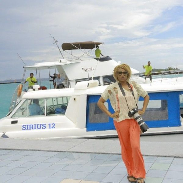 Chineze Anyaene in the Maldives - July - 2014 - BellaNaija006