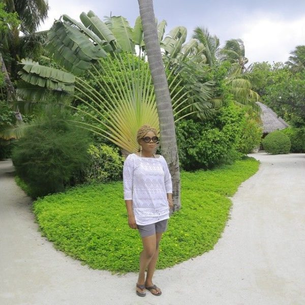 Chineze Anyaene in the Maldives - July - 2014 - BellaNaija010