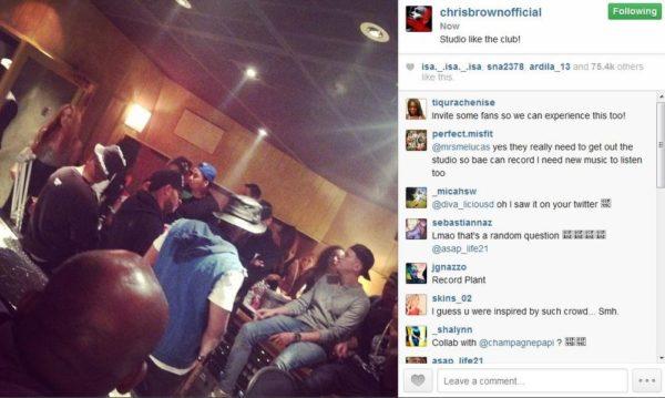 Chris Brown & Karrueche - July 2014 - BellaNaija.com 01