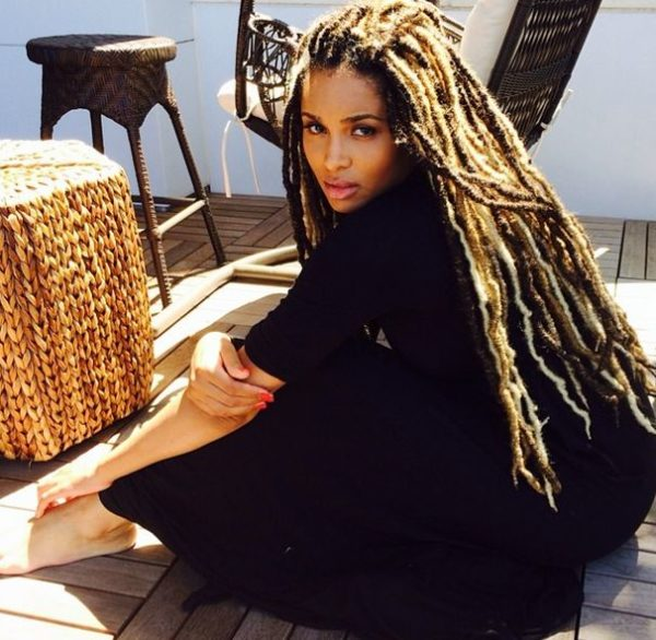 Ciara Dreadlocks - July 2014 - BellaNaija.com 02