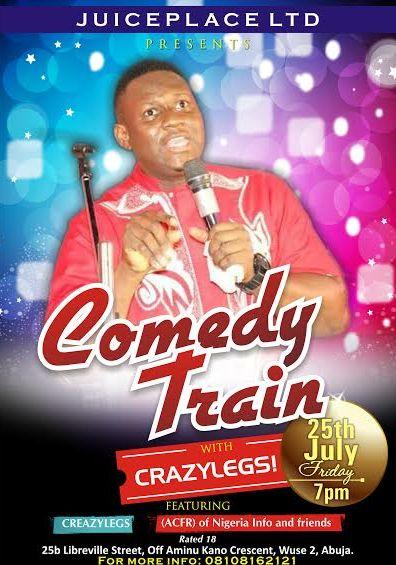Comedy Train - Events This Weekend - July 2014 - BellaNaija.com 01