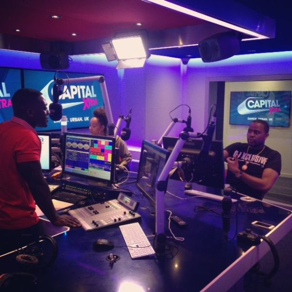 DJ Xclusive On Capital Xtra with DJ Abrantee