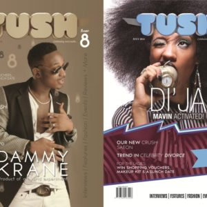 Dammy Krane & Di'Ja for Tush Magazine - July 2014 - BN Music - BellaNaija.com 01