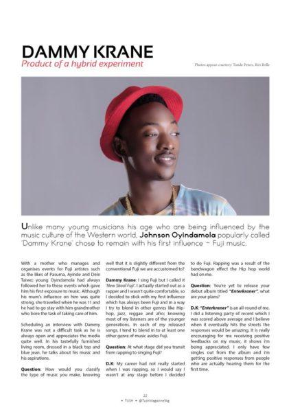 Dammy Krane & Di'Ja for Tush Magazine - July 2014 - BN Music - BellaNaija.com 02