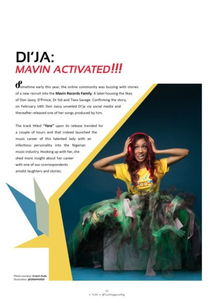 Dammy Krane & Di'Ja for Tush Magazine - July 2014 - BN Music - BellaNaija.com 03