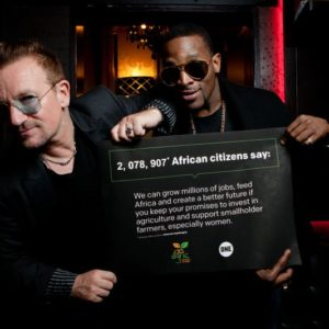 D'banj & Bono - July 2014 - BN Music - BellaNaija.com 01