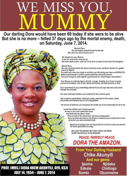 Dora Akunyili - July 2014 - BellaNaija.com 01