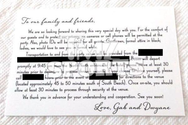 Dwyane Wade & Gabrielle Union's Wedding IV - July 2014 - Relationships - BellaNaija.com 01
