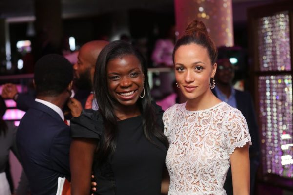 Eku Edewor and Gbemi Abudu
