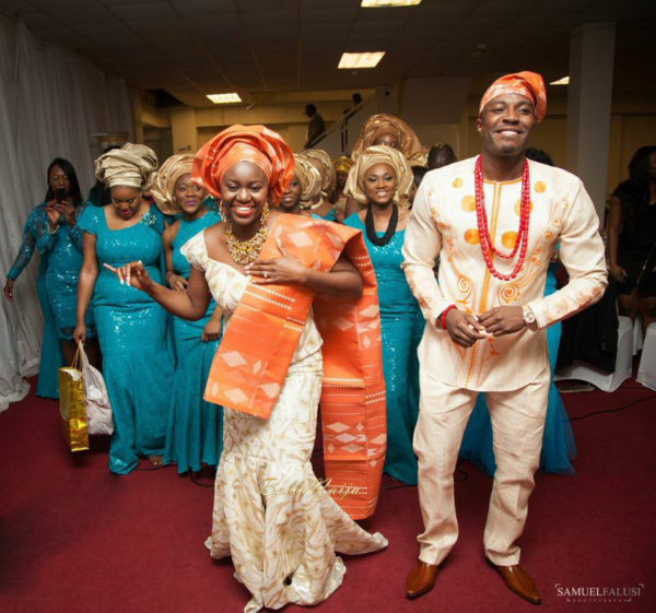 Evelyn & Kola London Nigerian Yoruba Wedding| BellaNaija 003