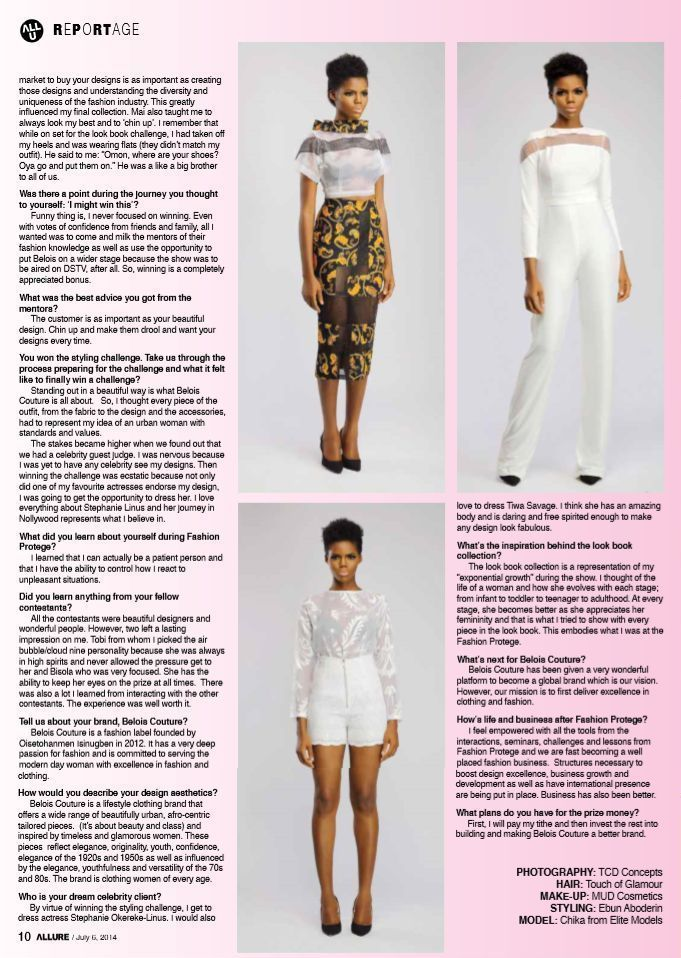 Fashion Protege Winner Omon for Allure Magazine - BellaNaija - July2014006