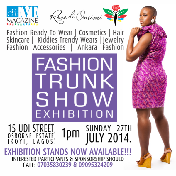 Fashion Trunk Show - Events This Weekend - July 2014 - BellaNaija.com 01