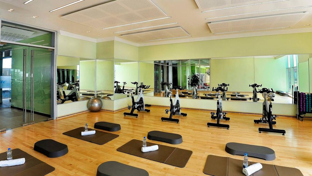 Aerobics room at four points sheraton lagos images frompo