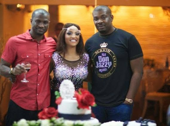 Peter Okoye, Freda & Don Jazzy
