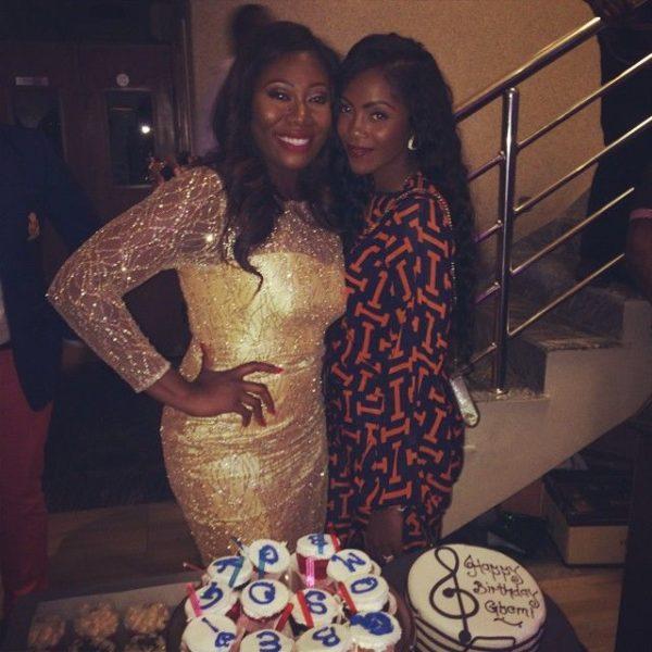 Gbemi Olateru-Olagbegi & Tiwa Savage