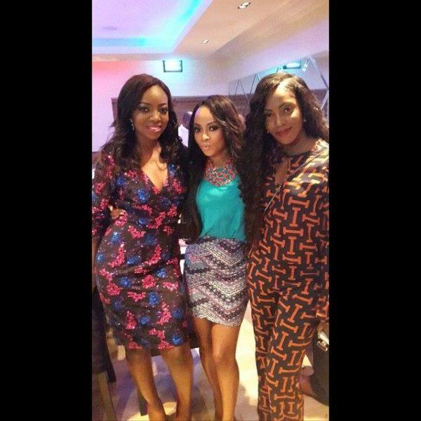 Kunbi Oyelese, Toke Makinwa & Tiwa Savage